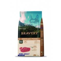 Bravery Mini Adult Iberian Pork - 7kg (Begrūdis, hipoalerginis)