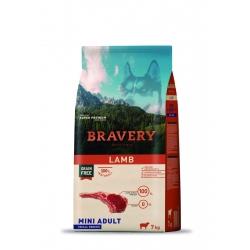 Bravery Mini Adult Lamb - 7kg (Begrūdis, hipoalerginis)
