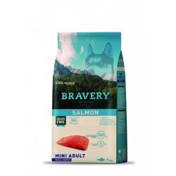 Bravery Mini Adult Salmon - 7kg (Begrūdis, hipoalerginis)