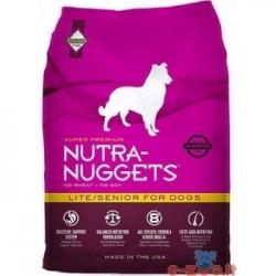 Nutra Nuggets - Lite Senior (su vištiena) - 15kg