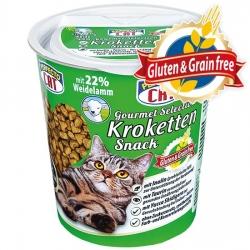 Perfecto Cat Gourmet Selection (su ėriena) Super premium klasės užkandis be grūdų ir glitimo - 125g