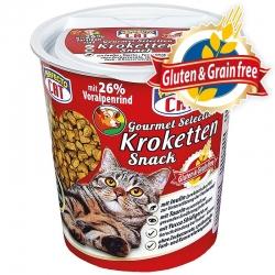 Perfecto Cat Gourmet Selection (su jautiena) Super Premium klasės užkandis be grūdų ir glitimo - 125g