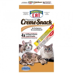 Perfecto Cat Cream Snack kreminis užkandis 120g