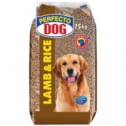 Perfecto Dog Lamb + Rice 15kg