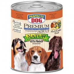 Perfecto Dog Premium Natural konservai su jautiena, bulvėmis ir dygminų aliejumi 800g