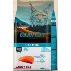 Bravery salmon adult Cat - 7kg