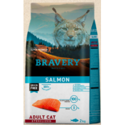 Bravery salmon adult cat...