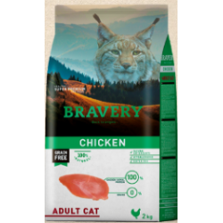 Bravery chicken adult Cat -...