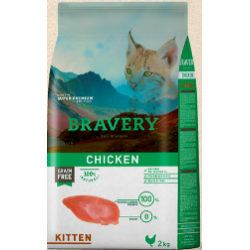 Bravery chicken kitten 2kg