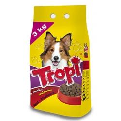Tropi sausas maistas šunims su jautiena 3kg