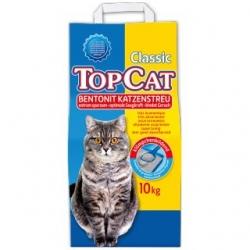 TopCat bentonitinis kačių kraikas - 10kg