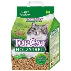 TopCat granuliuotų medžio pjuvenų kraikas 10l