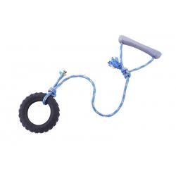 Žaislas - padanga maža su virvute
